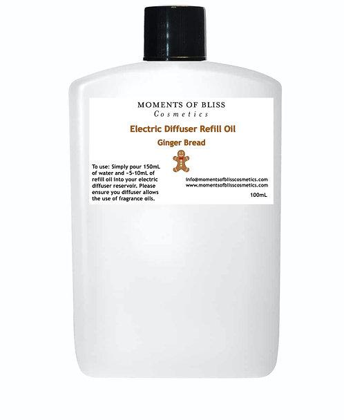 Ginger Bread - Electric Diffuser Refill Oil