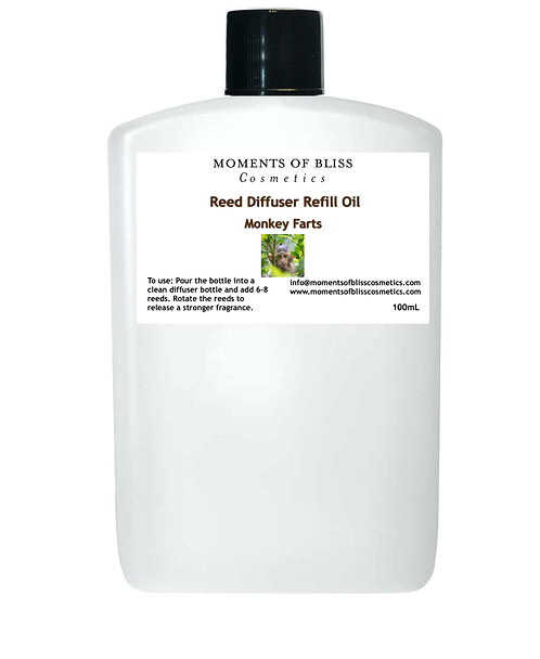 Reed Diffuser Oil Refill - Monkey Farts