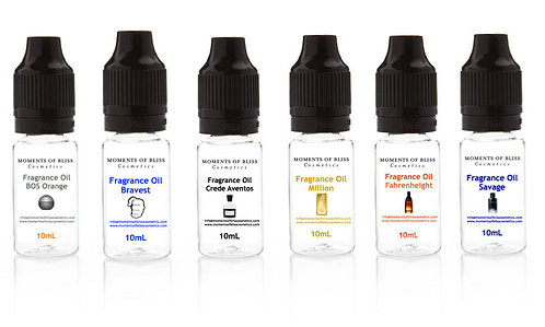 Men's Inspired Fragrance Oils - Set of 6