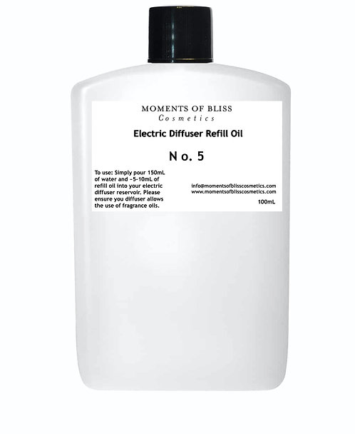 Number 5 - Electric Diffuser Refill Oil
