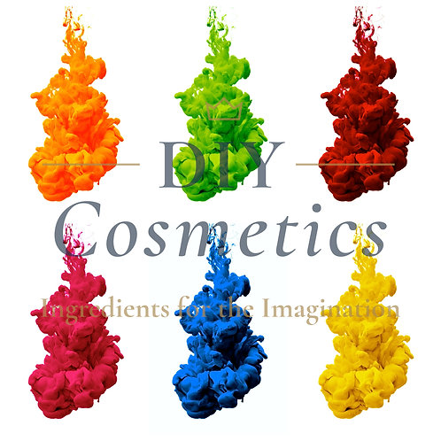 Cosmetic Water Soluble Liquid Dyes - Set of 6 Colours