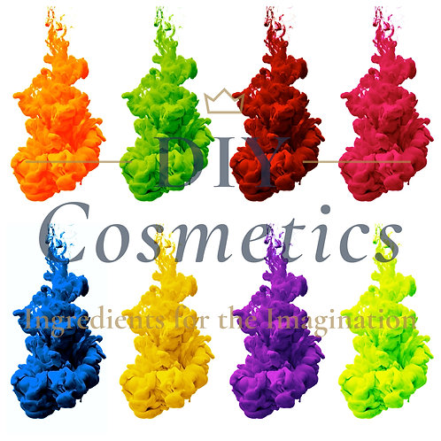 Cosmetic Water Soluble Liquid Dyes - Set of 8 Colours