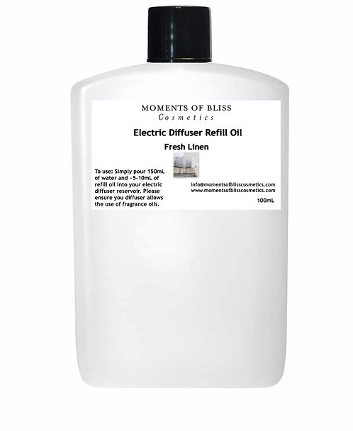 Fresh Linen - Electric Diffuser Refill Oil