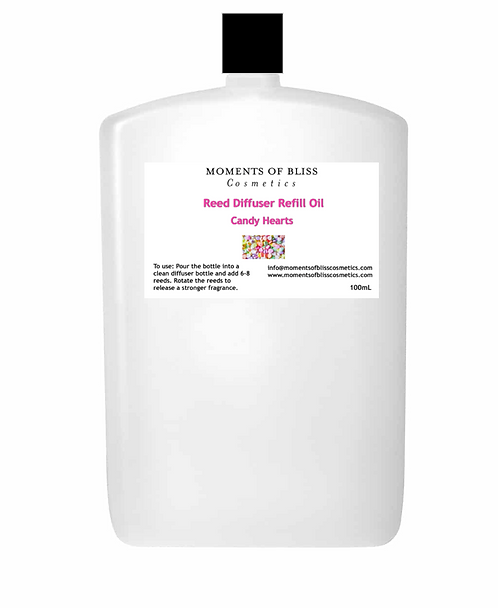 Reed Diffuser Oil Refill - Candy Hearts