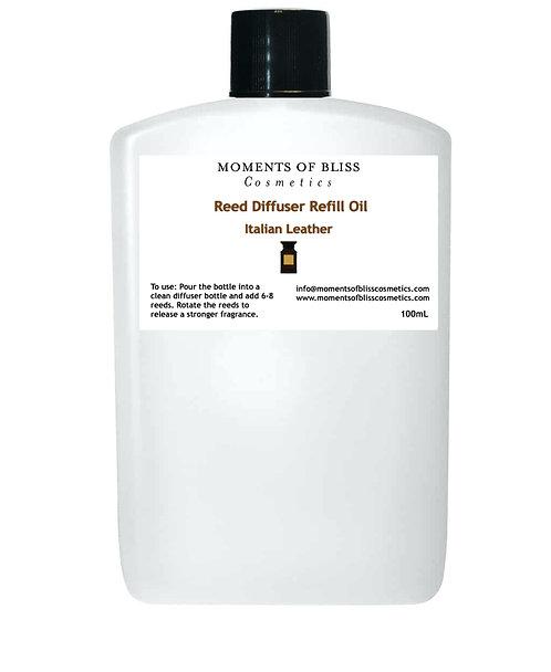 Reed Diffuser Oil Refill - Italian Leather TF