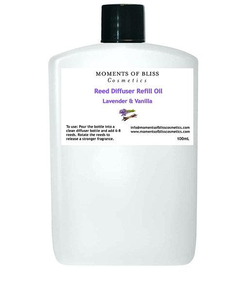 Reed Diffuser Oil Refill - Lavender & Vanilla