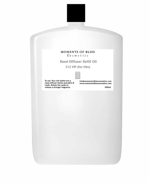 Reed Diffuser Oil Refill - 212 VIP (For Him)