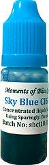 Cosmetic Water Based Liquid Dye - 10mL - Sky Blue
