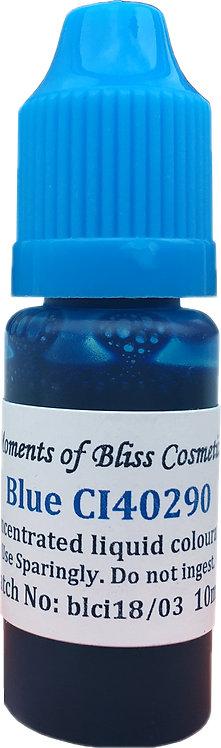 Cosmetic Water Based Liquid Dye - 10mL - Blue