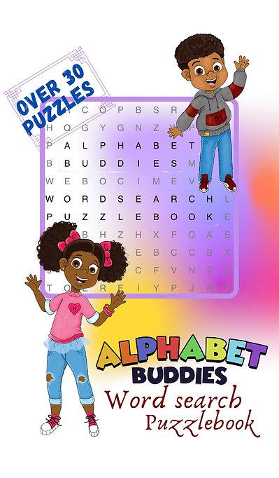 Alphabet Buddies: Word Search Puzzle book