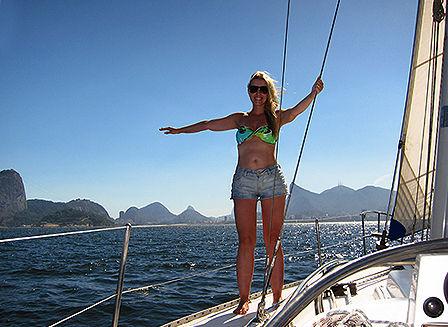 Sail in Rio de Janeiro
