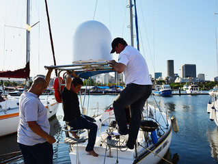VSAT in a 33ft. sailing boat? Yes, ELLO can!
