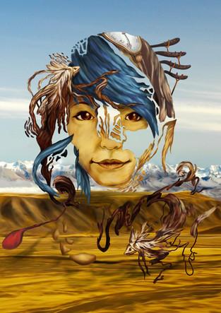 Dali inspired self portrait