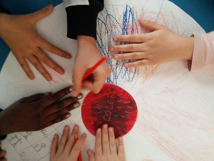 Travail avec des élèves d'ULIS [Unité Localisée d'Inclusion Scolaire]