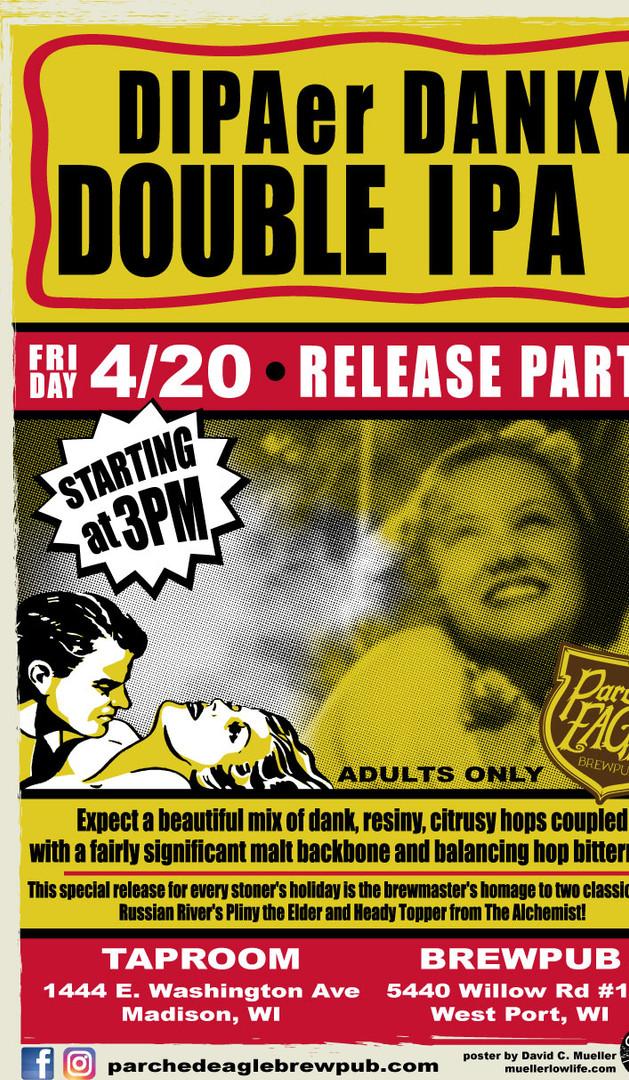 Dipaer Danky - Beer Release Poster