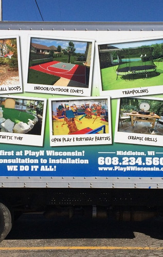 PLAY'N Wisconsin Vehicle Graphics