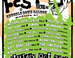 SNOTFEST 2017 - Gig Poster