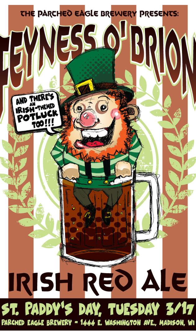 FeynessOBrion - Beer Release Poster