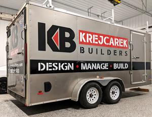Krejcarek Builders Vehicle Graphics