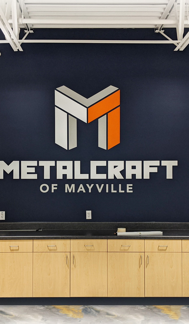 METALCRAFT Wall Decal