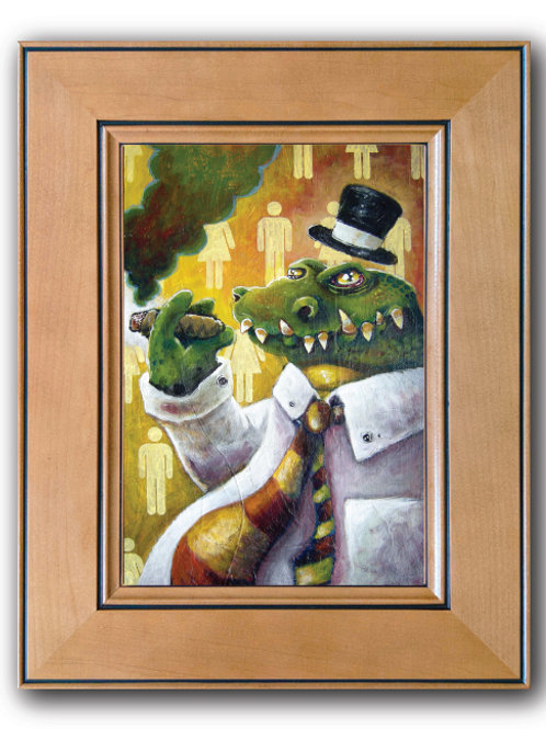 """Gator II"" Print on Cupboard Door"