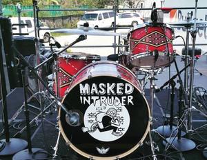 Masked Intruder Drum Kit