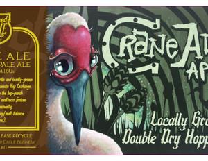 Crane Ale 12oz Can Label