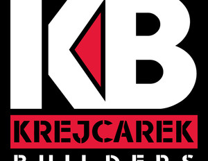 Krejcarek Builders - White Vertical