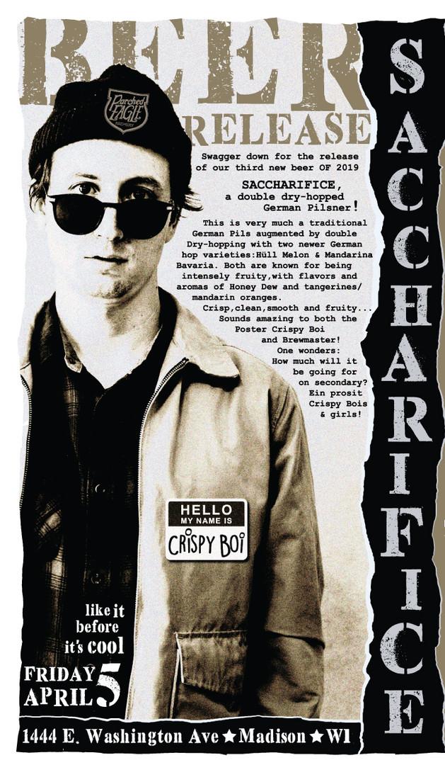Saccharifice - Beer Release Poster