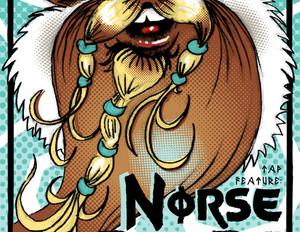 NorsePeeps - Beer Release Poster