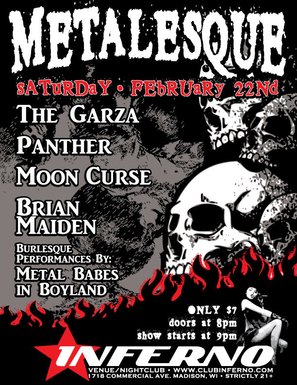 Metalesque - Gig Poster