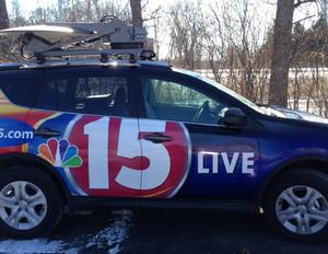 NBC 15 Vehicle Wrap