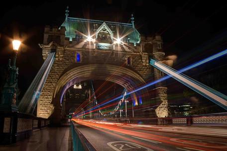 Tower Bridge Light Trails