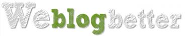 WeBlogBetter Logo