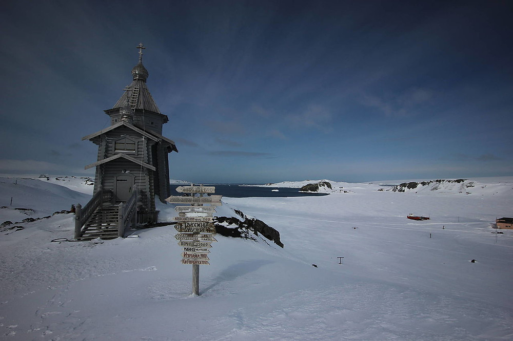 Trinity Church on King George Island (Akulovz)