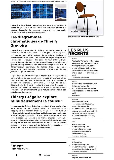 Thierry Grégoire, galerie du Tableau - p
