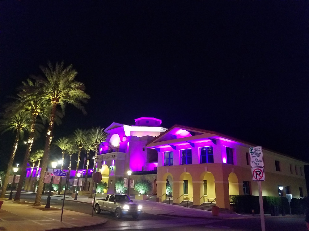 Cathedral City Hall at Night