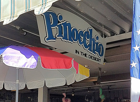 Pinocchio for Breakfast when you Visit Palm Springs
