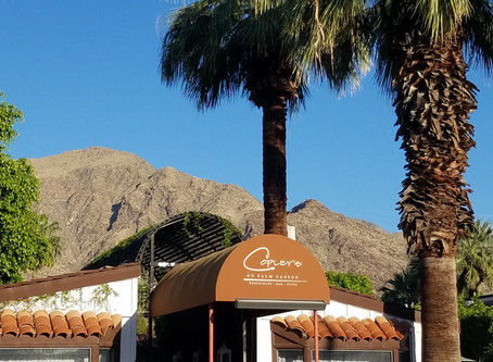 Creativity Flows at Palm Springs Copleys Restaurant