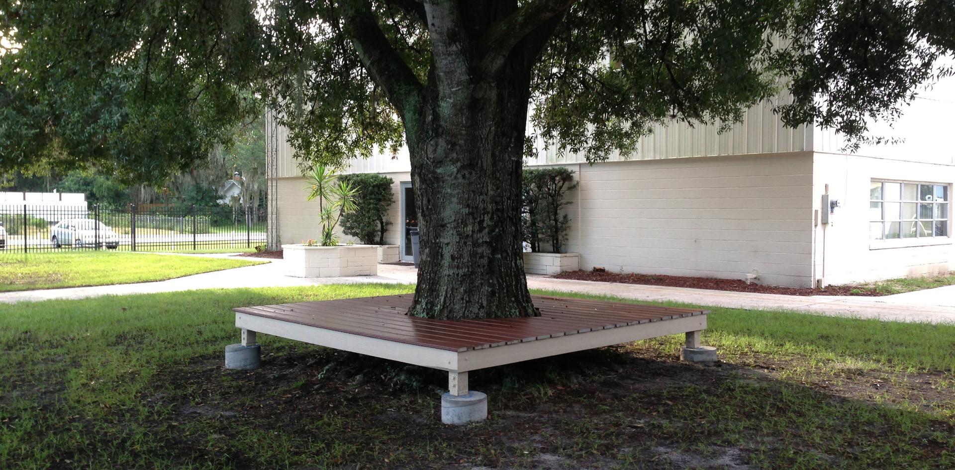 Senior Gift - Tree Bench