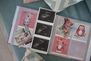 оформление детског фотоальбома