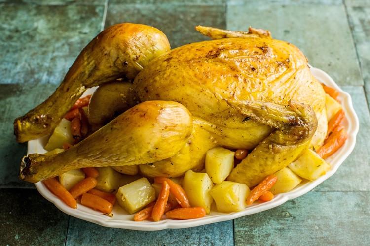 A delicious chick pot roast.