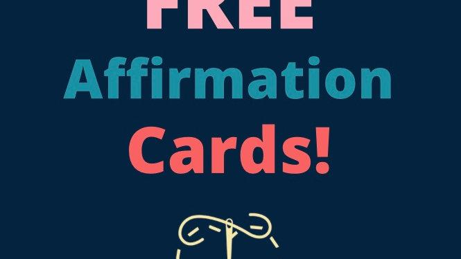 Children's Affirmation Cards 2 of 2