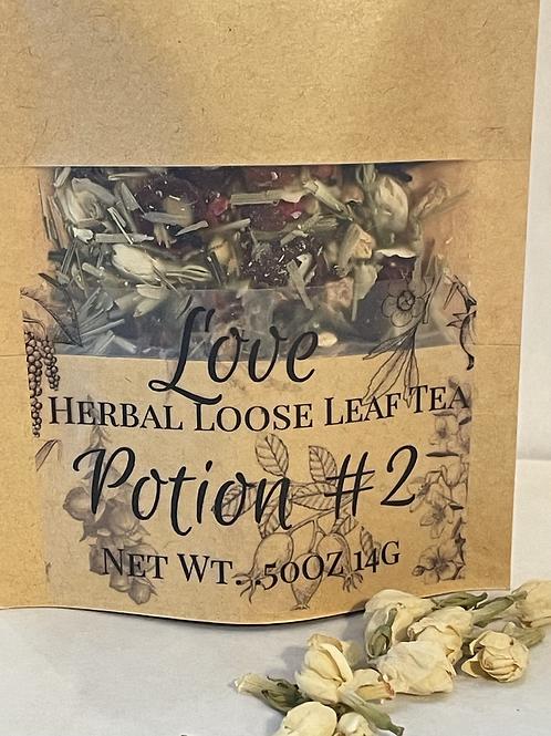 Love Potion #2 Herbal Loose Leaf Tea