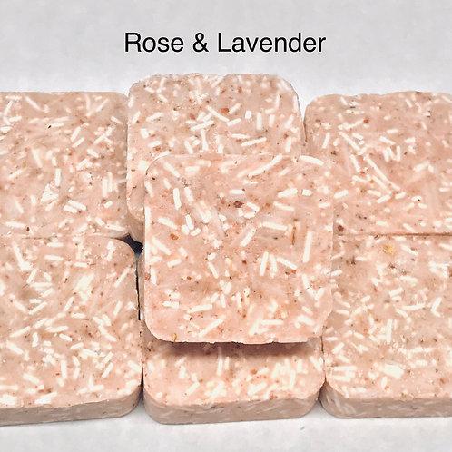 Herbal Shampoo Bar - Rose & Lavender