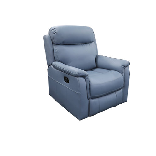 Cameo Leather Manual Recliner