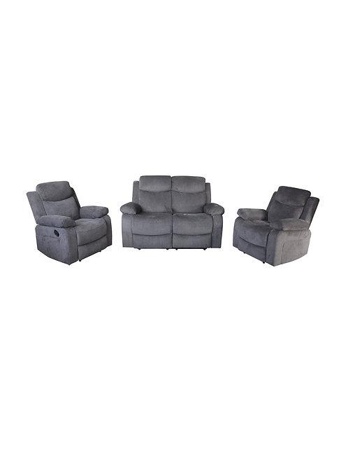 Zircon 3 Piece Recliner Lounge Suite