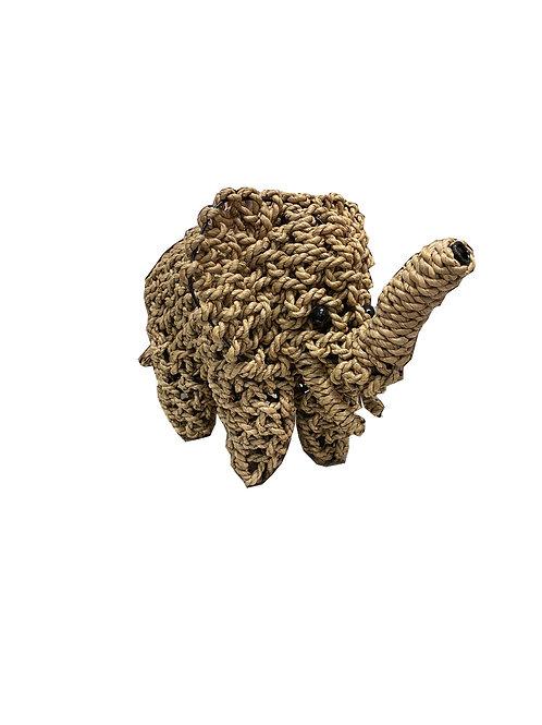 Rattan Elephant Medium