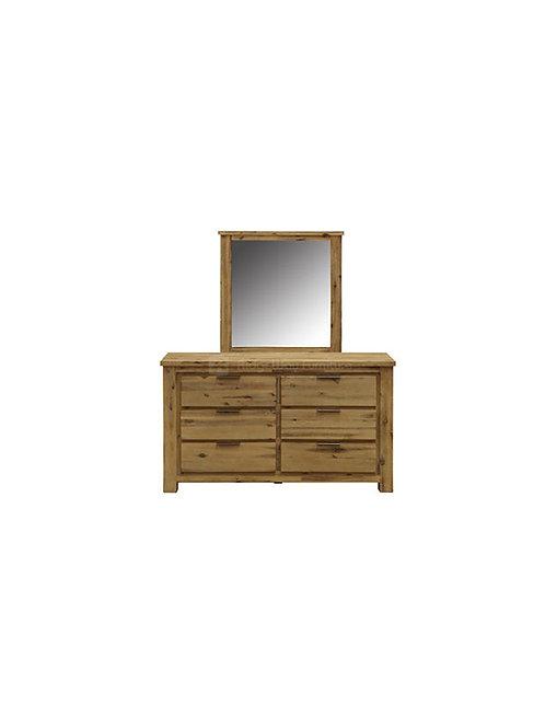 Comet Dresser & Mirror