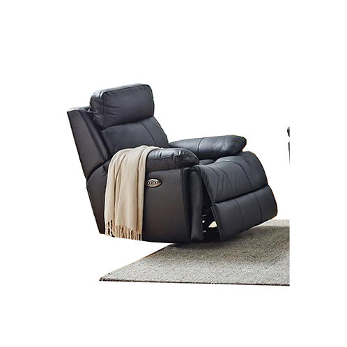 Platinum Leather Electric Recliner